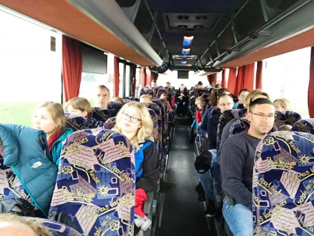 12.04.2017: Spalierstehen beim Bundesligaspiel / Busfahrt nach Braunschweig mit der U10