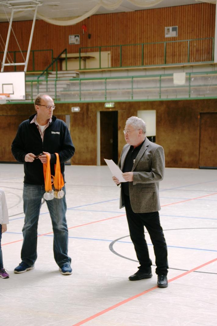 22./23.04.2017: NBV U20-Landesmeisterschaft / Ehrung durch Bernhard Wawersik vom NBV und Christian Drewes