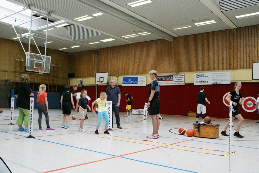 03.06.2017: kinder+Sport Basketball Academy / Koordination