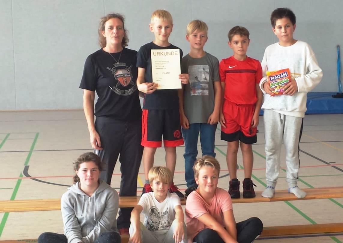 WE 01.09.18 / U12-Bezirkspokal / Ebstorf belegte den 2. Platz
