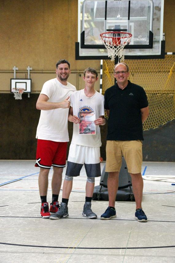 03.06.2017: Abschlussdaddeln / Ehrungen U18 - Jonas Homa