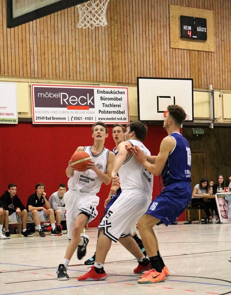 WE 13.10.18 / Spielbericht Heide Knights / Jonas Homa und Jonas Bebert machten auch ein starkes Spiel