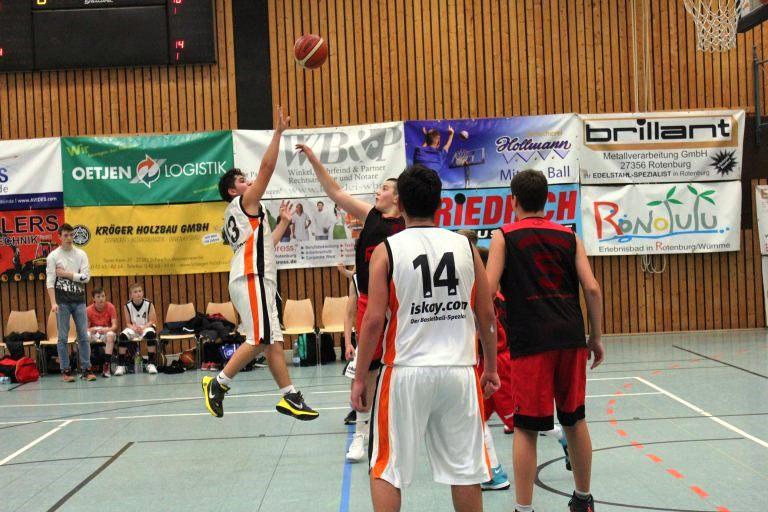 WE 21.01.2017 / Spielbericht U16 / Florian Hagjoviq mit einer starken Leistung