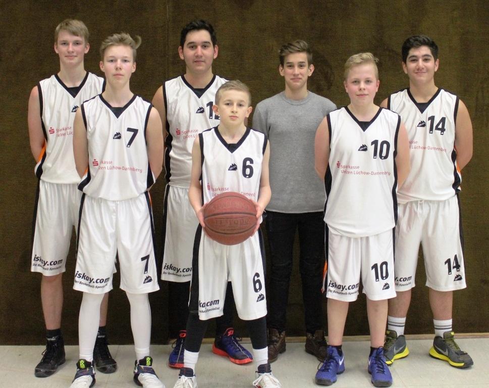 WE 18.02.2017 / Spielbericht U16 / Die U16 Meistermannschaft vom TuS Ebstorf