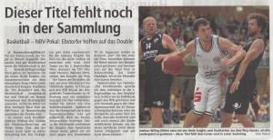 Vorbericht NBV-Pokal Heide Knights vom 06.05.2017