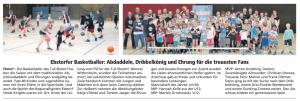 Abschlussdaddeln Team Ebstorf Knights vom 30.04.2019