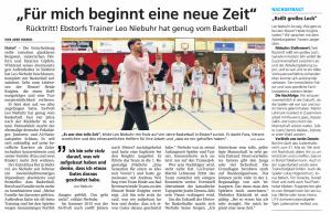 Ruecktritt Leo Niebuhr vom Basketball