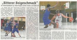 Spielbericht Basketball Heide Cup vom 03.09.2018