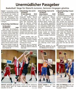 Spielberichte Ebstorf Knights vom 30.09.2019