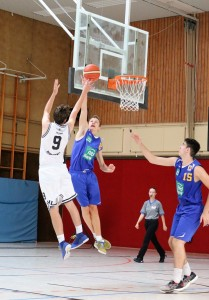 WE 01.09.18 / Heide Basketball Cup / Neuzugang Paul Packheiser steigt hoch