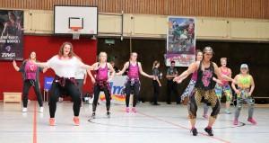 WE 01.09.18 / Heide Basketball Cup / Auftritt Zumba Divas aus Ebstorf
