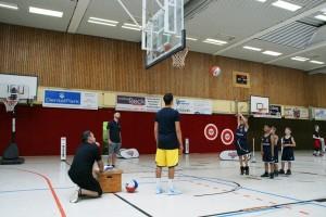 03.06.2017: kinder+Sport Basketball Academy / Wurfübungen