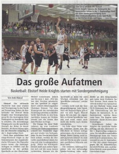 """Bericht """"Das grosse Aufatmen"""" vom 19.08.2017"""