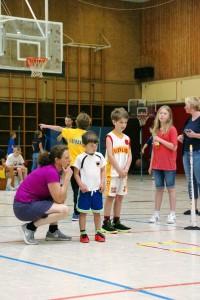 03.06.2017: kinder+Sport Basketball Academy / Anleitung für die ganz Kleinen