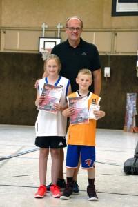 03.06.2017: Abschlussdaddeln / Ehrungen Skill-Challenge - Skyla Semmler und Timon Wendler