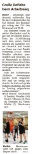 Spielberichte Ebstorf Knights vom 03.12.2019