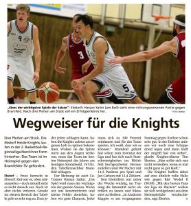 Vorbericht Heide Knights vom 07.12.2019