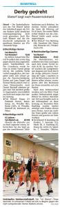 Spielberichte Ebstorf Knights vom 11.12.2019