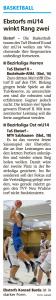 Vorberichte Ebstorf Knights vom 14.12.2019