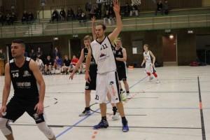 WE 14.01.2017 / Spielbericht Herren II / Daniel Klatt (Nr. 11) und Tobias Katenkamp (Nr. 4) steuerten 55 Punte bei