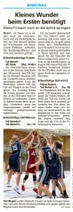 Vorberichte Ebstorf Knights vom 17.01.2020