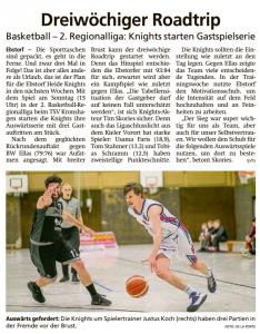 Vorbericht Heide Knights vom 18.01.2020