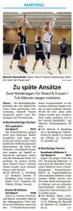 Spielberichte Ebstorf Knights vom 18.02.2020