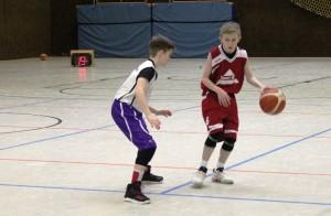 WE 04.02.2017 / Spielbericht U14 / Andreas Wendler am Ball – lenkte das Ebstorfer Spiel
