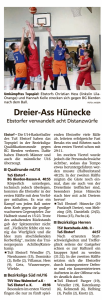 Spielberichte Ebstorf Knights vom 25.02.2020