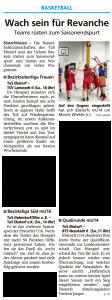 Vorberichte Ebstorf Knights vom 07.03.2020